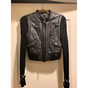 Jackets & Blazers - Bebe Leather Jacket